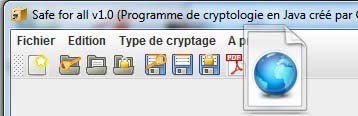 Projet application JAVA cryptologie